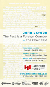 The Past Is a Foreign Country + The Chair Test